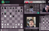 Skilling Open Final 1: Carlsen & So trade blows