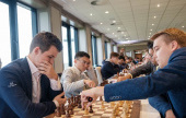 Grand Swiss 4: Magnus Carlsen's great escape