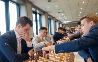 Grand Swiss 4: Magnus Carlsen's great escape