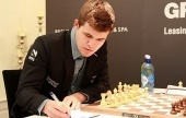 GRENKE Classic 5: Carlsen climbs as Anand falls