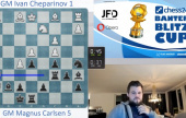 Carlsen in 1/4-finals, tips Caruana for Candidates