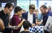 Sinquefield Cup (5): Carlsen y Anand brillan con luz propia