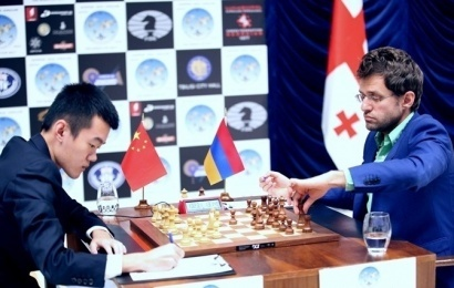 Tbilisi World Cup Final 2: Ding Liren escapes