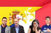 España vs Francia, Cheparinov y Sitges