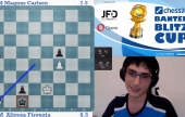 Firouzja beats Carlsen to win the Banter Blitz Cup