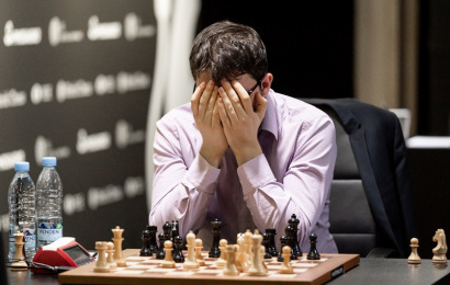 Riga Grand Prix Final 1: Mamedyarov strikes first