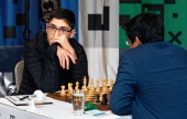 Prague Masters 2-3: Vidit leads, Firouzja's 1st win