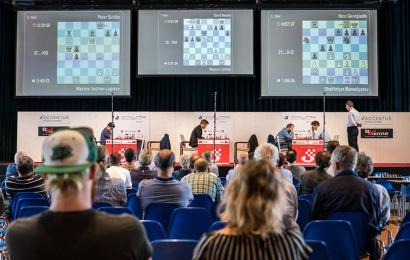 Biel, R1: Carlsen und Mamedyarov starten mit Siegen