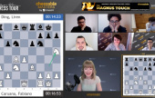Chessable Masters 2: MVL and Giri lead