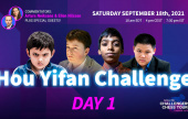 World's youngest GM joins field for Hou Yifan Challenge