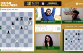 Adhiban & Erigaisi reach the Champions Chess Tour
