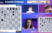 Kramnik Challenge 1: Keymer grabs the early lead