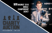 Own Magnus Carlsen's World Championship jacket