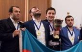Mannschafts-EM, R9: Gold für Aserbaidschan