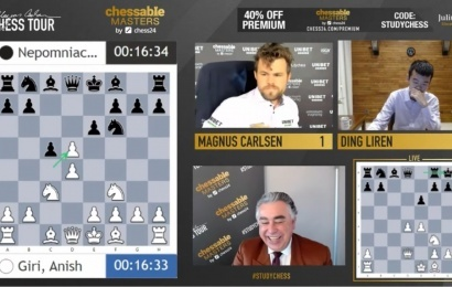 Chessable Masters 10: Magnus the Magnanimous
