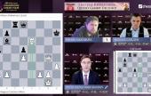 FTX Crypto Cup 4: Carlsen i Caruana o włos od porażek