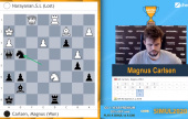 Carlsen cruiset inn til kvartfinale mot Giri