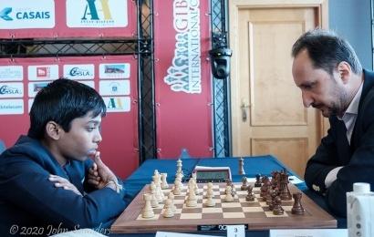 Gibraltar Masters (1-6): Praggnanandhaa vence a Topalov