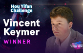 Vincent Keymer wins the Hou Yifan Challenge