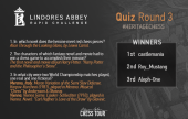 Lindores Abbey Quiz Winners Round 3