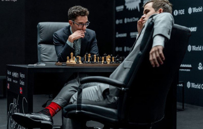 Carlsen-Caruana 8: Fabi lets another chance slip