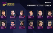Carlsen, MVL & So reviennent pour le Airthings Masters