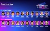 Kramnik & Polgar reveal Challengers Chess Tour line-ups
