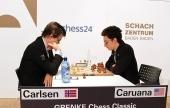 Caruana & Carlsen meet in GRENKE Classic Round 1
