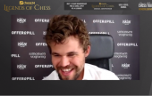 Legends of Chess R6: Carlsen alene på topp igjen