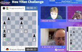 Hou Yifan Challenge 3: Keymer in pole position after Pragg collapse