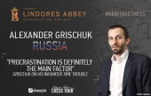 "Grischuk: ""Procrastination is definitely the main factor"""