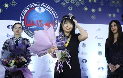 Ju Wenjun bleibt Weltmeisterin