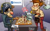 Carlsen desactiva a Caruana
