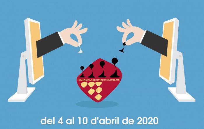 Campionat de Catalunya d'Edats Online a Chess24. Emparellaments de les eliminatòries
