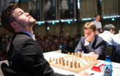 "GRENKE Chess 1: Carlsen ""outlasts"" Keymer"