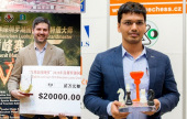 Svidler and Harikrishna win rapid matches
