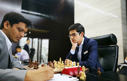 Giri draws first blood in the Shenzhen Masters