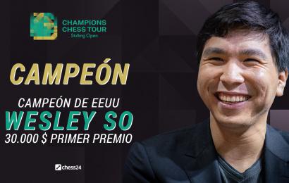 Wesley So amarga su 30 cumpleaños a Magnus Carlsen y gana el Skilling Open