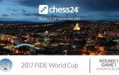 Premium-Werbeaktion während des Schach-Weltcups!