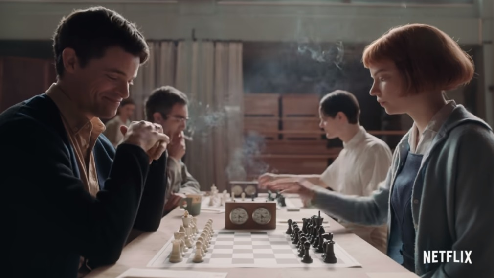 The Queen's Gambit is out on Netflix | chess24.com