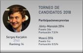 Los Candidatos: Sergey Karjakin