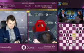 Opera Euro Rapid SF 1: Carlsen & So take the lead