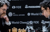 Berlin Candidates 7: Caruana beats Aronian to lead