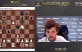 Legends of Chess R3: Carlsen og Svidler i ledelsen