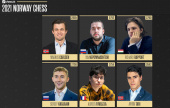 Firouzja-Carlsen in Norway Chess, Nepo late arrival