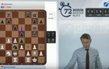 Gusti wird von Magnus Carlsen in Live-Show zerberstet