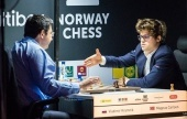 Norway Chess 7: Carlsen's no. 1 in peril after Kramnik loss