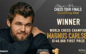 Magnus vence de maneira épica o Magnus Carlsen Chess Tour