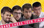 Carlsen, MVL, Aronian & Ding battle for GCT glory