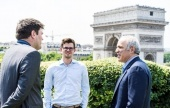 Kasparov on hand for Paris Grand Chess Tour launch